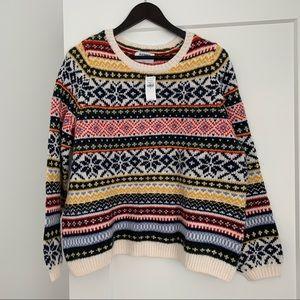 Old Navy Nordic/Fair Isle Sweater NWT